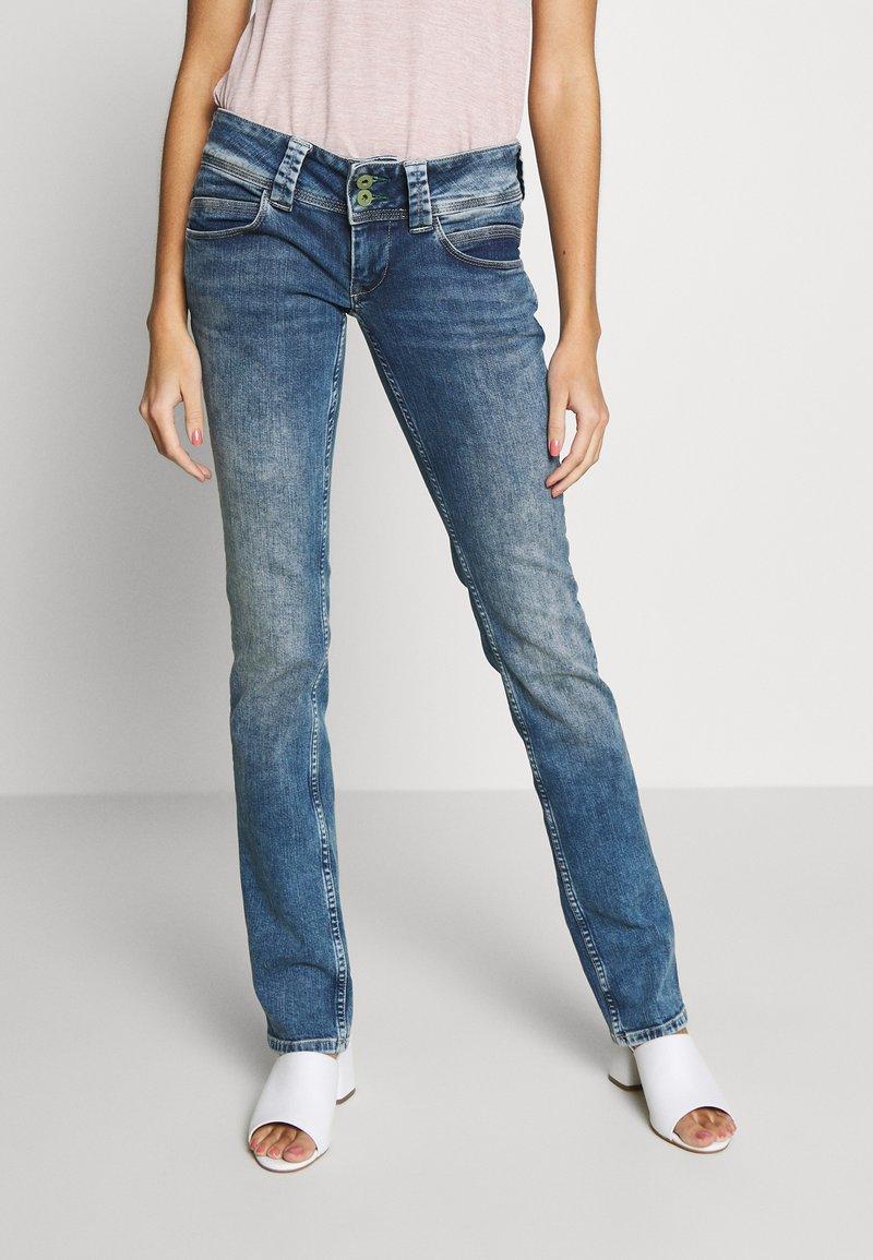 Pepe Jeans - VENUS - Slim fit jeans - stone blue denim
