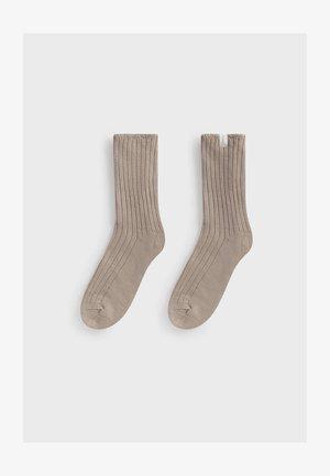 Socks - camel