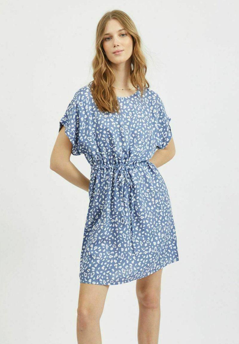 Vila - Day dress - colony blue