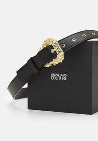 Versace Jeans Couture - VITELLO BELTS - Belt - nero - 2