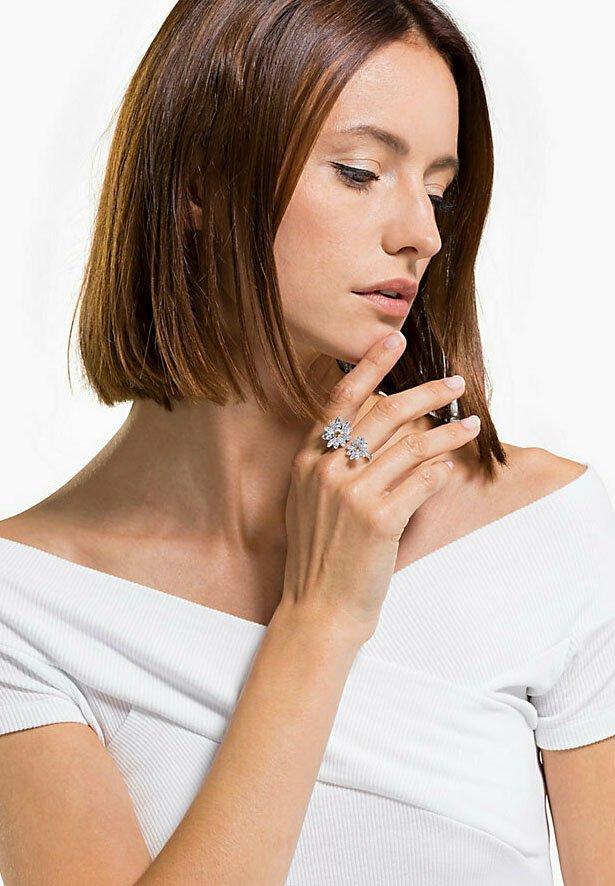 Swarovski - ETERNAL FLOWER - Ring - silber