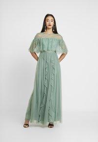 Forever Unique - Společenské šaty - sage - 0