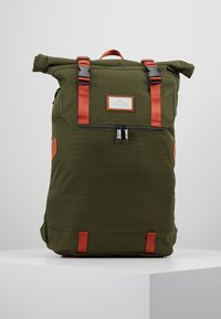 Doughnut - CHRISTOPHER - Rucksack - army with rust straps - 0