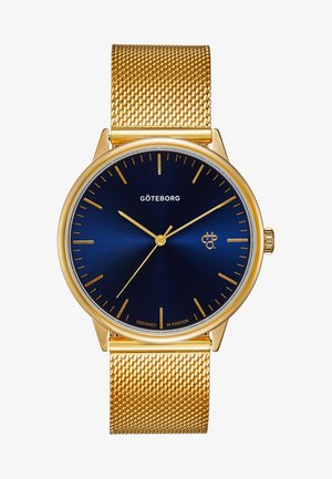 NANDO GÖTEBORG - Watch - gold-coloured/navy