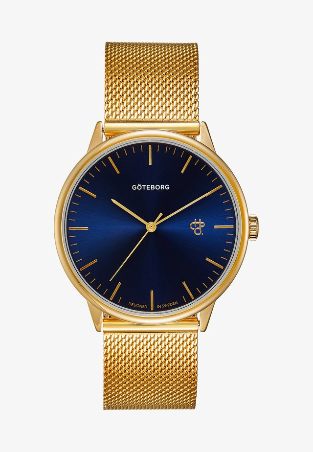 NANDO GÖTEBORG - Reloj - gold-coloured/navy