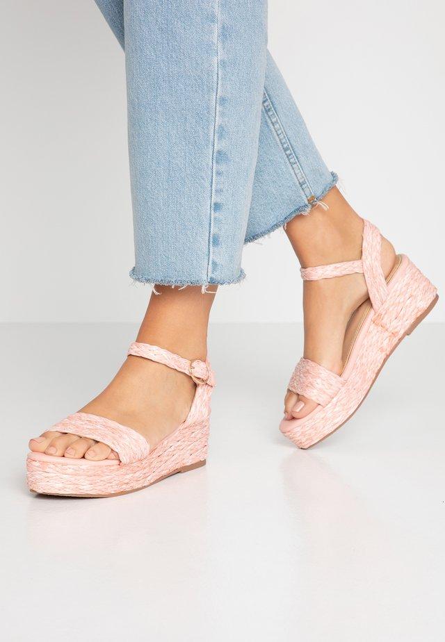 KALIEE - Platform sandals - pink