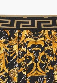 Versace - A-line skirt - nero/stampa - 3