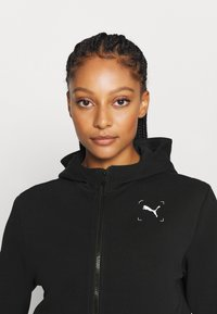 Puma - NU TILITY - Zip-up hoodie - black - 3