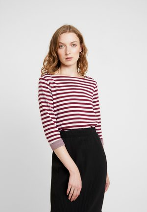 3/4 ARM - Long sleeved top - jewel red