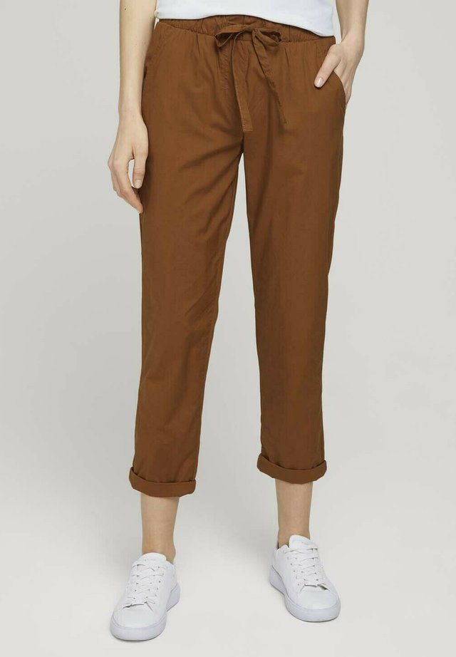 Trainingsbroek - caramel brown