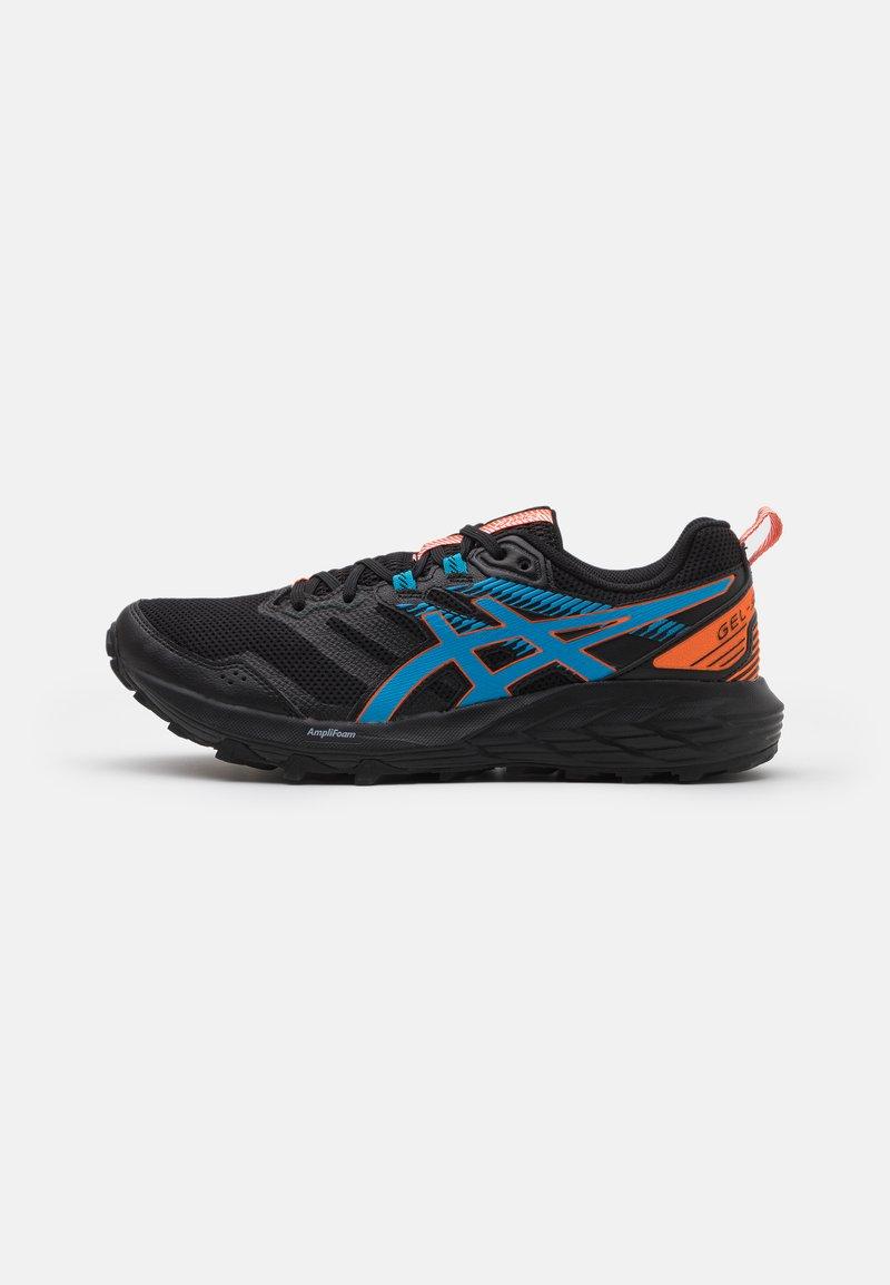 ASICS - GEL SONOMA 6 - Trail running shoes - black/digital aqua
