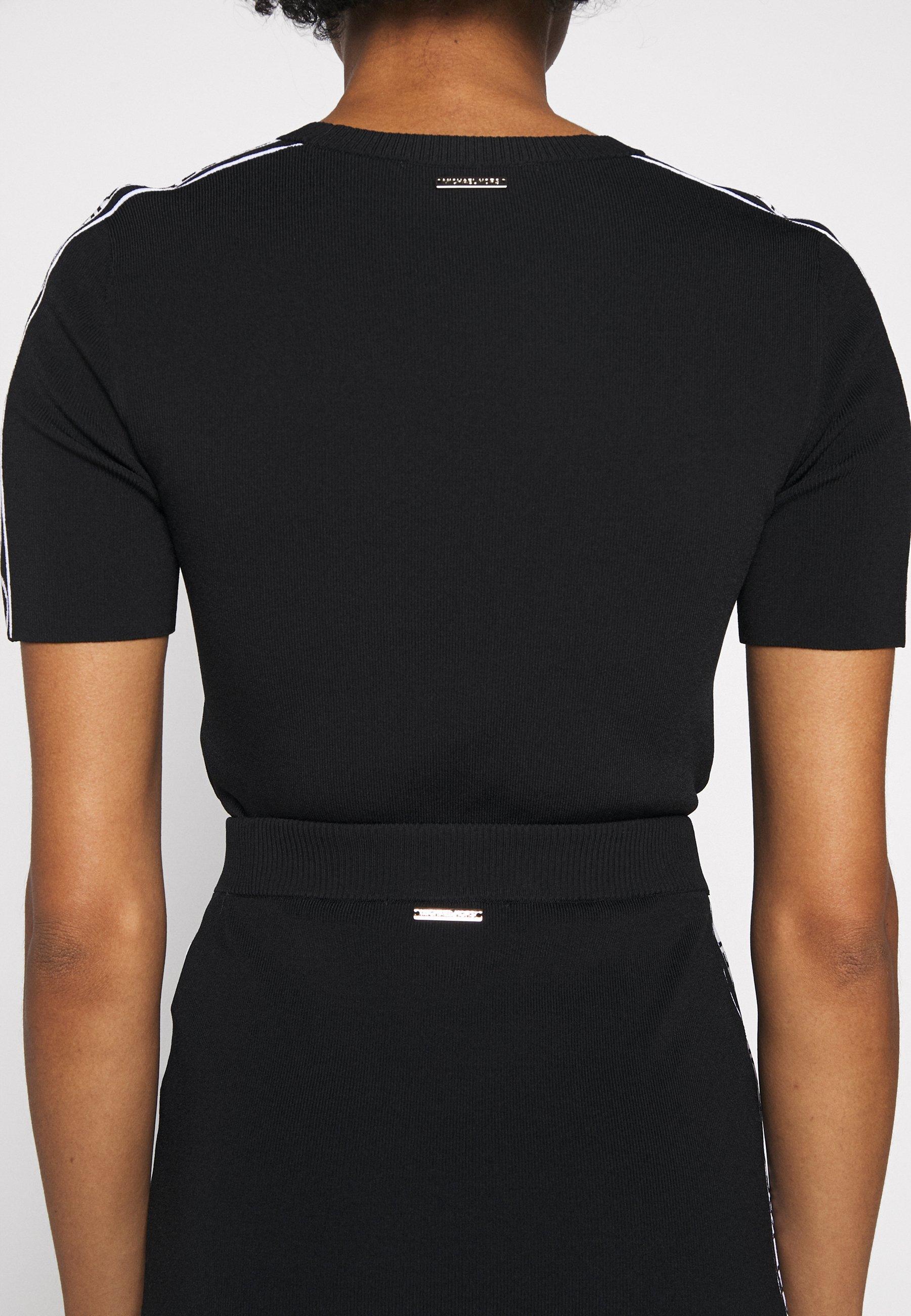 2020 Women's Clothing MICHAEL Michael Kors TAPE TUBE SKIRT Pencil skirt black uht8N82c2