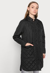 Selected Femme Petite - SLFFILLIPA QUILTED COAT - Parka - black - 3
