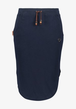 HOLLYAK  - A-line skirt - marine