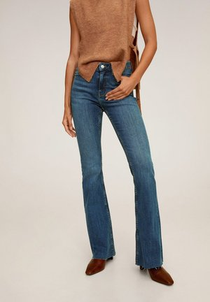 FLARE - Široké džíny - bleu foncé