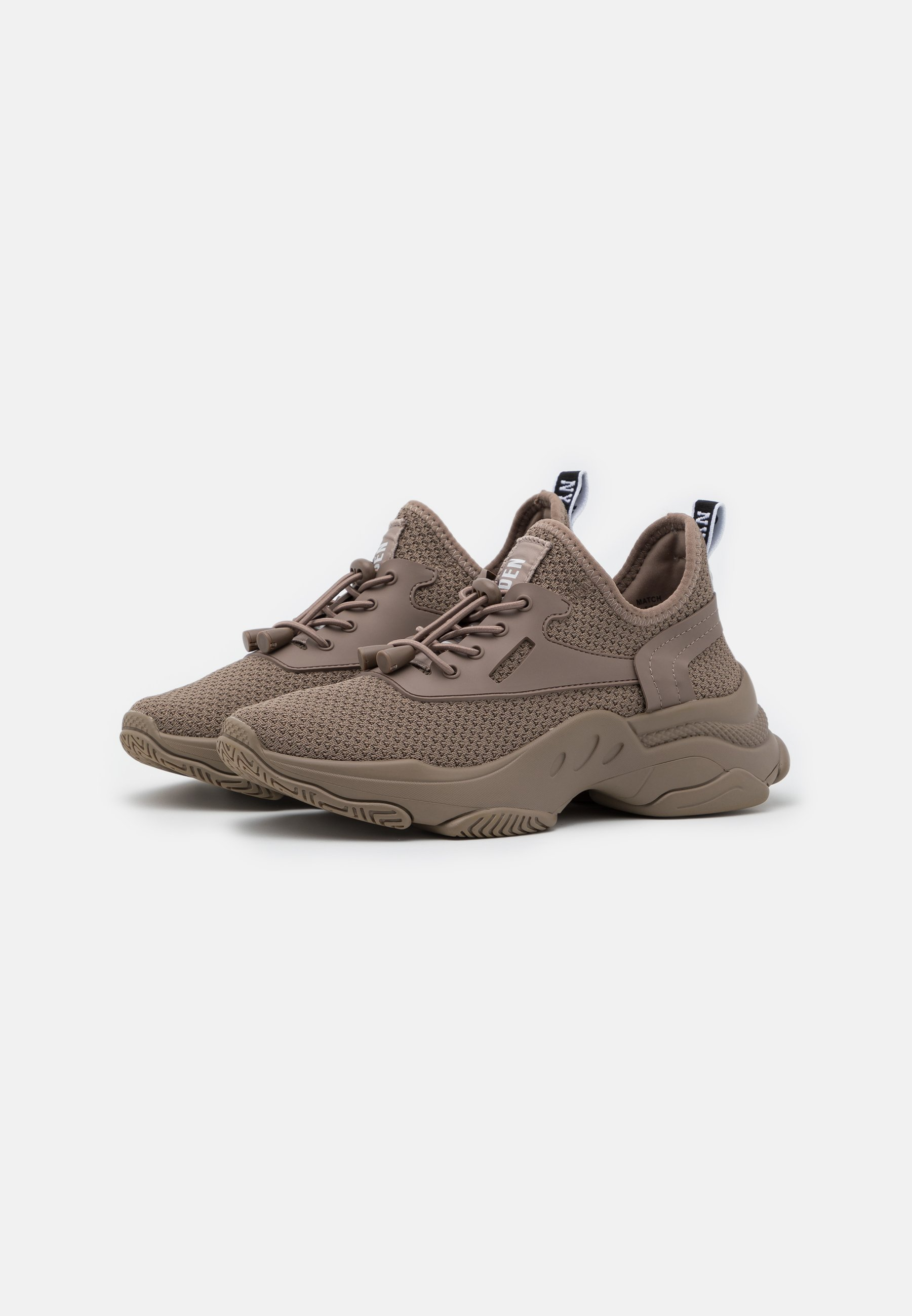 Steve Madden MATCH Sneaker low dark taupe/taupe