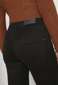 ONLY Petite - ONLROYAL BIKER - Jeans Skinny Fit - black - 3