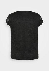 Even&Odd Curvy - Basic T-shirt - black - 6