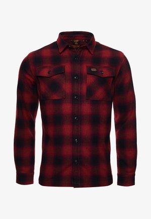 Shirt - redwood check