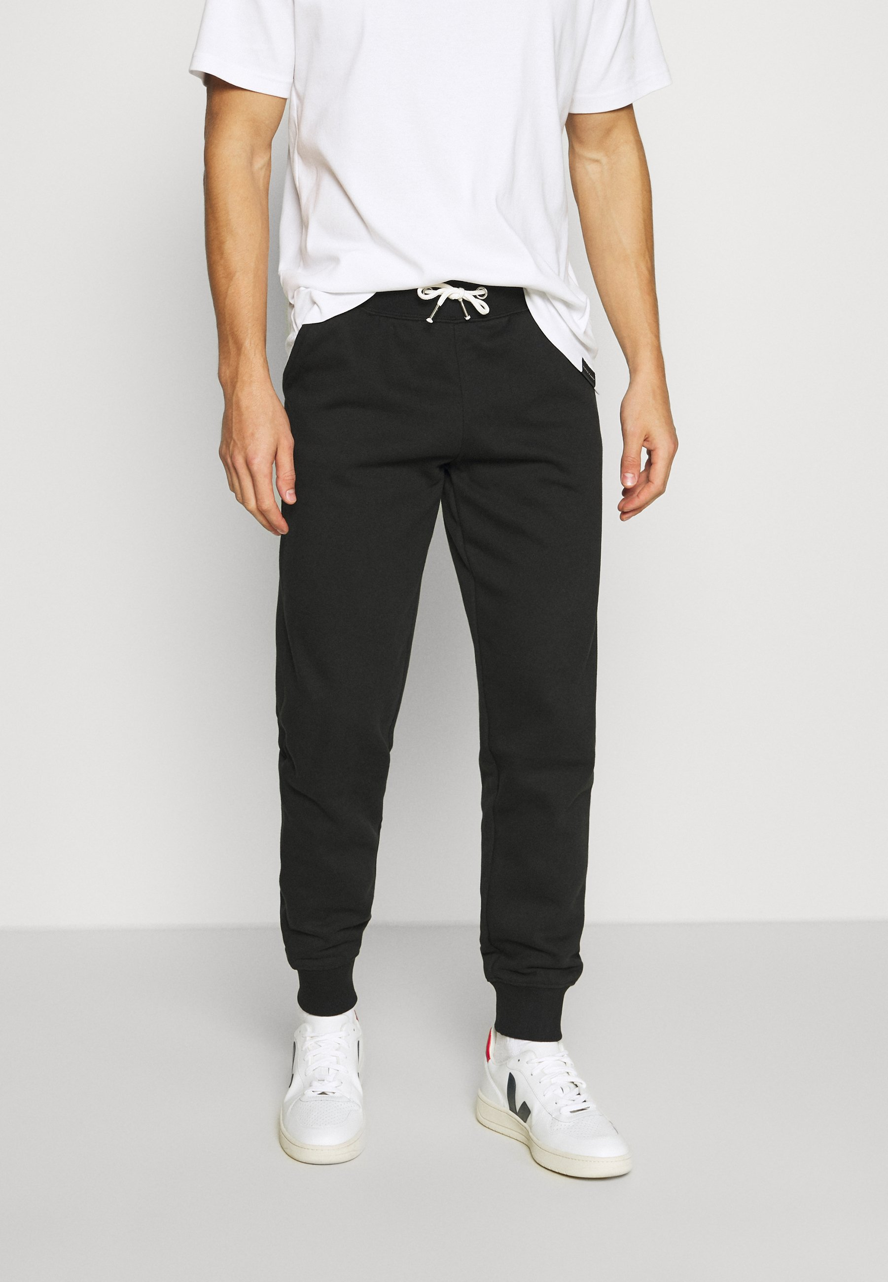 Pier One 2 PACK - Tracksuit bottoms - black XTBQh