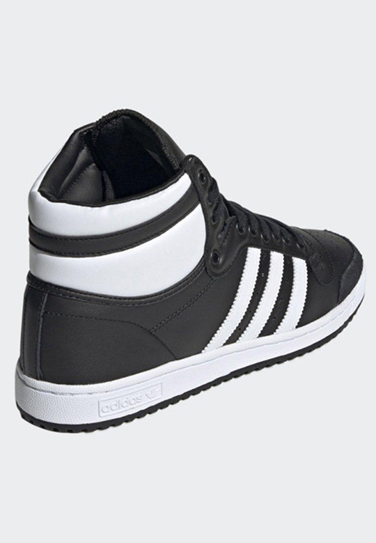 TOP TEN HI SHOES - Sneakers hoog - black