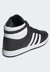 adidas Originals - TOP TEN HI SHOES - Baskets montantes - black - 3
