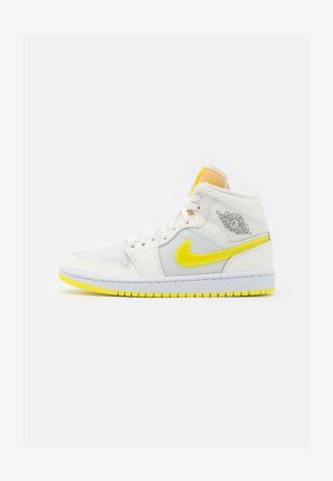 AIR 1 MID SE - Høye joggesko - sail/light voltage yellow/white