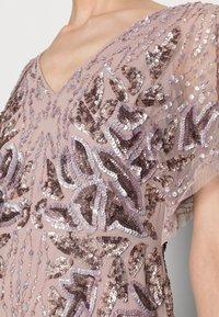 Adrianna Papell - SHORT BEADED DRESS - Koktejlové šaty/ šaty na párty - cameo - 4