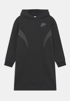 AIR DRESS - Day dress - black/dark smoke grey