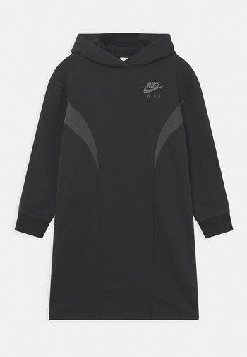 AIR DRESS - Vestito estivo - black/dark smoke grey