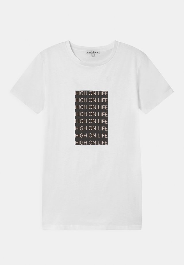 JUMP  - T-shirt imprimé - bright white