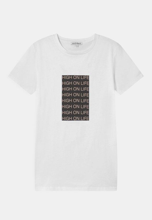 JUMP  - T-shirt print - bright white