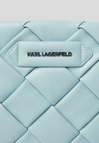 KARL LAGERFELD - Clutch -  smoked blu - 3