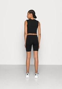 Vero Moda - VMMAXI BIKER SHORTS 2 PACK - Shorts - black - 3