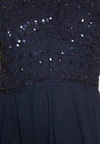 Dorothy Perkins Petite - ELEANOR ENAMEL BEADED HALTER MAXI DRESS - Occasion wear - navy - 6