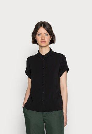 MAJAN SHIRT - Button-down blouse - black