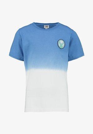 YEATON - Print T-shirt - ocean blue