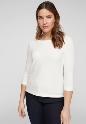 3/4-MOUWEN - Long sleeved top - off-white