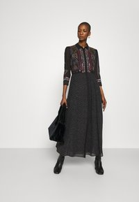 Desigual - VEST WUHAN - Shirt dress - black - 1
