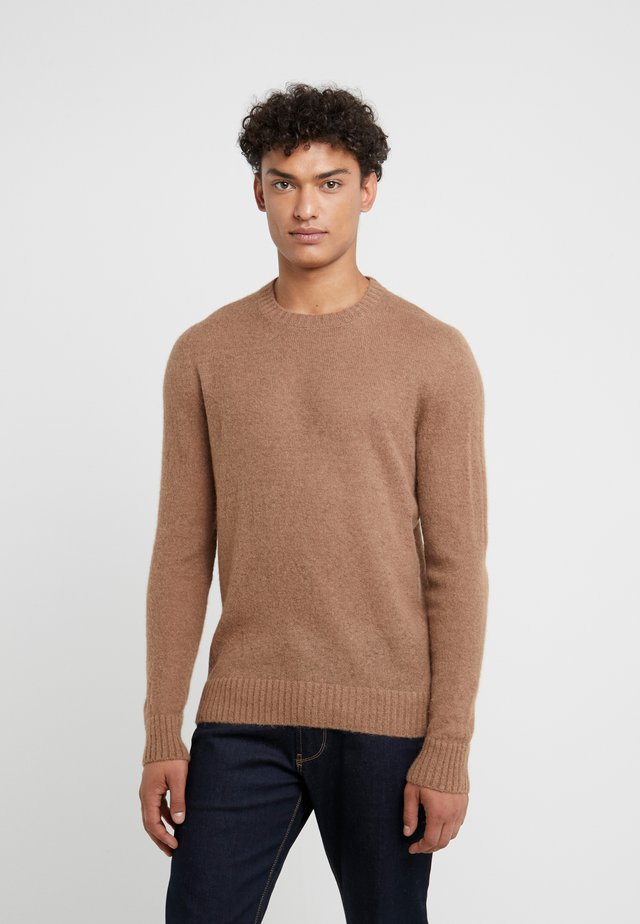 CREW NECK - Jumper - beige
