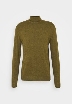 ONSMIKKEL SOFT HIGH NECK - Jumper - fir green