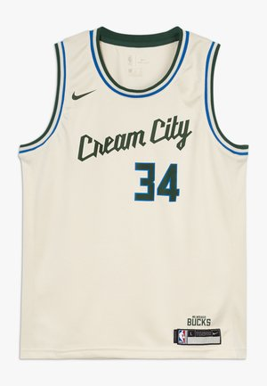 NBA MILWAUKEE BUCKS ANTETOKOUNMPO GIANNIS BOYS CITY EDITION  - Klubové oblečení - flat opal