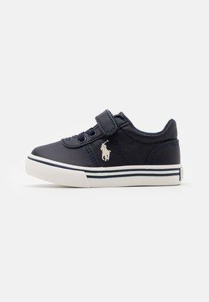 HANFORD III - Trainers - navy smooth/offwhite