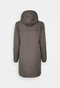 K-Way - UNISEX LE VRAI EIFFEL ORSETTO - Parka - grey smoke - 1