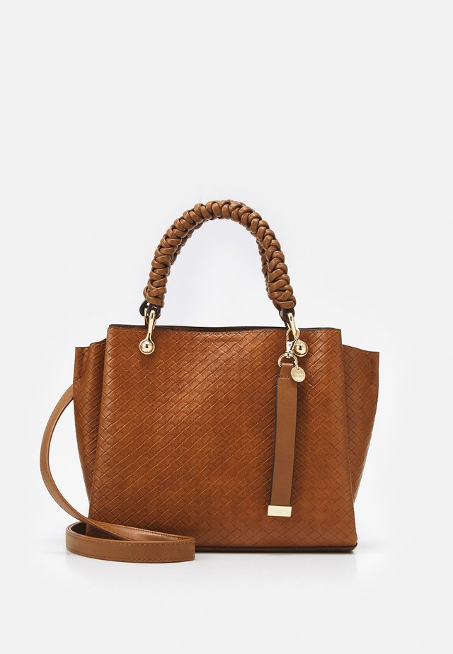 GLOADITH - Shopping bag - cognac