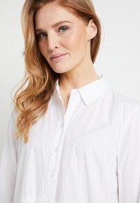 Kaffe - KADALE - Shirt dress - optical white - 5