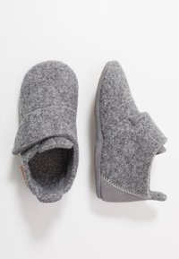 Bisgaard - BABY HOME SHOE - Pantoffels - grey - 0
