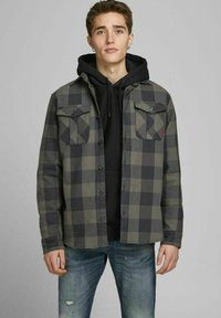 Jack & Jones PREMIUM - Summer jacket - climbing ivy - 0