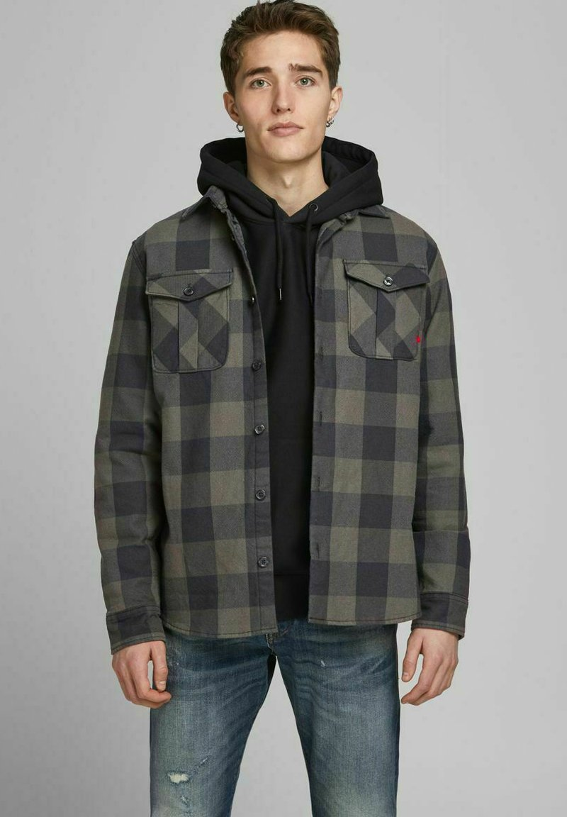 Jack & Jones PREMIUM - Summer jacket - climbing ivy