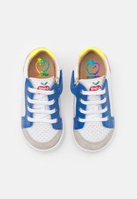 Shoo Pom - BOUBA ZIP BOX - Baby shoes - white/blue/orange - 3